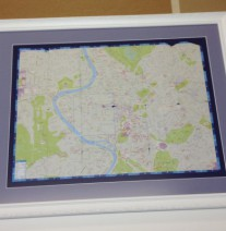 Tourist map or sweet remembrance of an I Do moment?