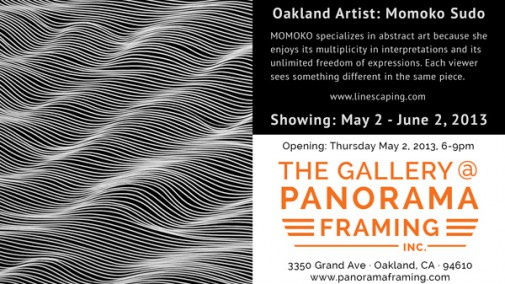 Momoko Sudo Art Show at Panorama Framing!