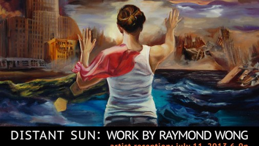 Works by Raymond Wong in the Gallery at Panorama Framing