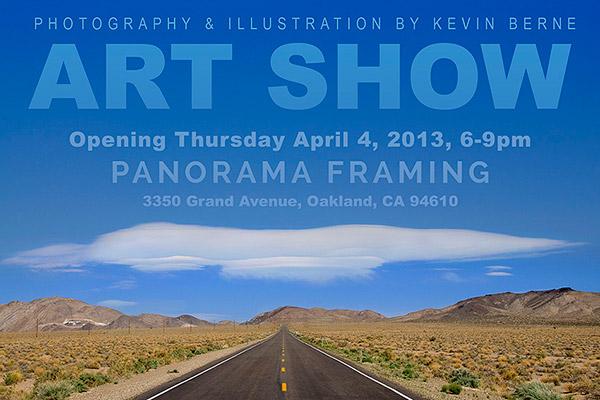 Kevin Berne Art Show postcard