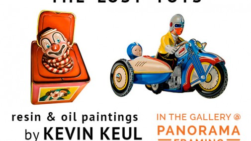 The Lost Toys by Kevin Keul in the Gallery at Panorama Framing